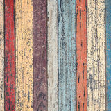 Vintage Wood Wall For text and background Stock Photography