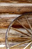 Vintage Wood Wheel Royalty Free Stock Images