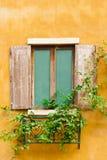 Vintage wood window Stock Photography