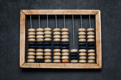Vintage wooden abacus Royalty Free Stock Images
