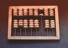 Vintage wooden abacus Royalty Free Stock Image