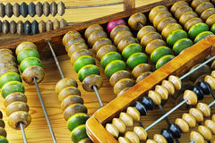 Vintage wooden abacus Royalty Free Stock Photos