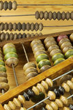 Vintage wooden abacus Stock Image