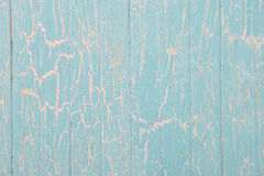 Vintage wooden background with cracked paint Royalty Free Stock Images