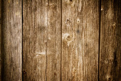 Vintage wooden background Stock Photography