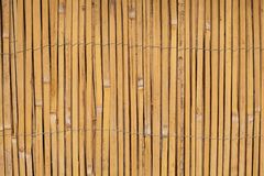 Vintage Wooden bamboo Background. Thin cane bamboo tied together with wire background.  royalty free stock images