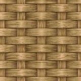 Vintage Wooden Basket Stock Images