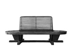 Vintage wooden bench Stock Image