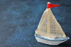 Free Vintage Wooden Boat Royalty Free Stock Image - 91635796