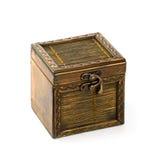 Vintage wooden casket Stock Photography