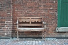 Vintage wooden chair Royalty Free Stock Photo