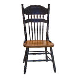 Vintage wooden chair Stock Images