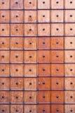 Vintage wooden church door. royalty free stock photos