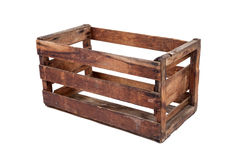 Vintage wooden crate Stock Image