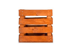 Vintage wooden  crate Royalty Free Stock Image