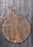 Vintage wooden cutting board Stock Image