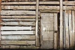 Vintage Wooden Door Royalty Free Stock Image