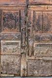 Vintage wooden door. Stock Image
