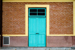 Vintage wooden door Royalty Free Stock Photos