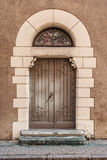 Vintage Wooden Door Royalty Free Stock Photos