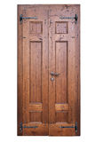 Vintage wooden door Royalty Free Stock Images