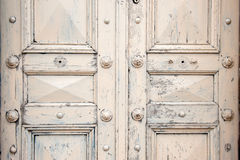Vintage wooden door Stock Photography