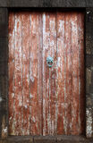 Vintage wooden door Stock Image
