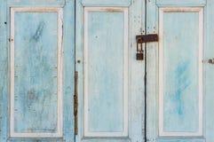 Vintage wooden door Stock Photography