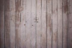 Vintage wooden door. royalty free stock photos