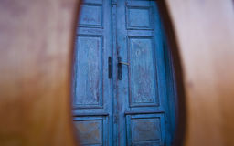 Vintage wooden doors royalty free stock photos