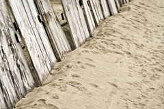 Vintage wooden fence Royalty Free Stock Images