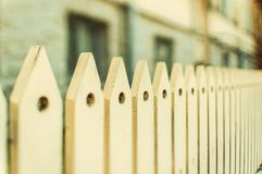 Vintage wooden fence Stock Image