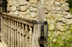 Vintage wooden fence Royalty Free Stock Photos