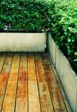 Vintage wooden floor outdoor Royalty Free Stock Photos