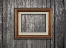 Vintage wooden frame Stock Photo