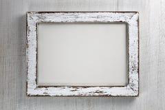 Vintage wooden frame Stock Photo