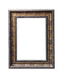 Vintage wooden frame isolated Royalty Free Stock Images