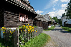 Vintage wooden houses Stock Photography