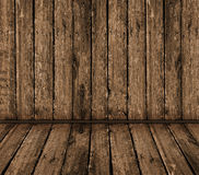 Vintage wooden interior Stock Image
