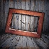Vintage wooden interior Royalty Free Stock Photography