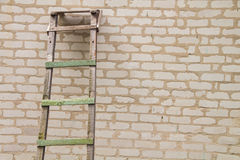 Vintage Wooden ladder Royalty Free Stock Photo