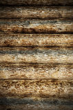 Vintage wooden logs Royalty Free Stock Photos