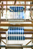Vintage wooden loom Royalty Free Stock Images