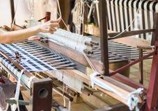 Vintage wooden loom Stock Photos