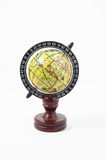 Vintage Wooden Old Globe Stock Photography