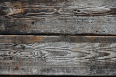 Vintage wooden panel with horizontal planks and gaps Royalty Free Stock Image