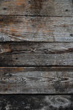 Vintage wooden panel with horizontal planks and gaps Royalty Free Stock Photography