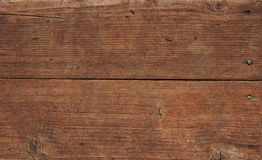 Vintage wooden panel with horizontal planks and gaps Royalty Free Stock Images