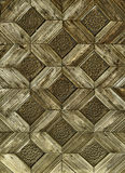 Vintage wooden pattern Royalty Free Stock Photos