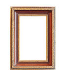Vintage wood photo frame Stock Photos